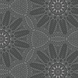 "26"" Remnant - Dark Gray  Lace -Meadow Dance by Amanda Murphy for Benartex"